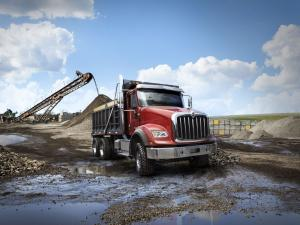 2016 International HX 6x4 Dump Truck